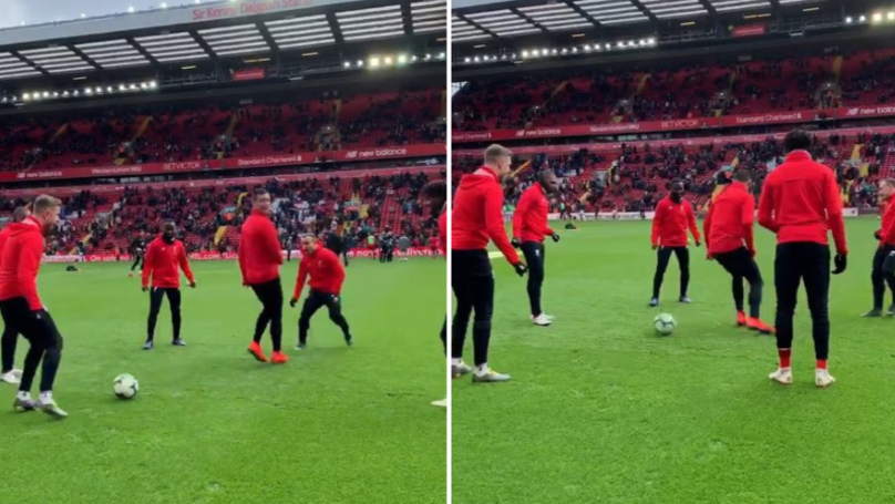 Dejan Lovren Hilariously Gets Nutmegged Three Times In 20 Seconds