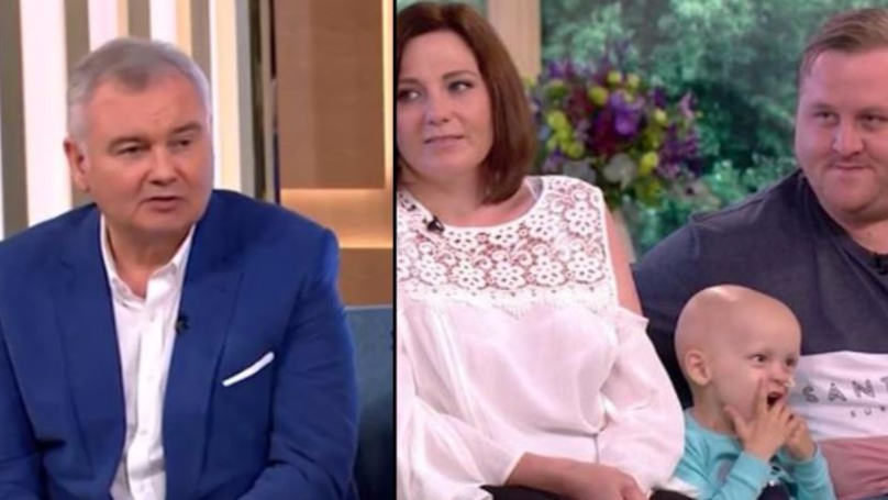 Eamonn Holmes Branded 'Vile' Over Comments To A Toddler With Cancer
