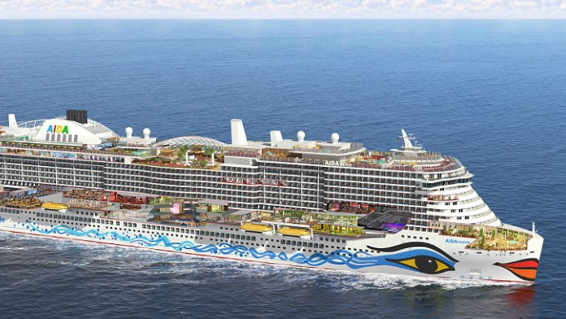 Huge £630m Cruise Ship Is Basically A Small Town On Water