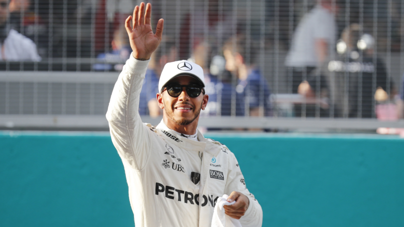 Lewis Hamilton Takes Malaysian GP Pole As Sebastian Vettel Starts Last
