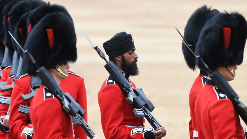 First Sikh Guardsman Faces Being Kicked Out Of The Army After Testing Positive For Cocaine