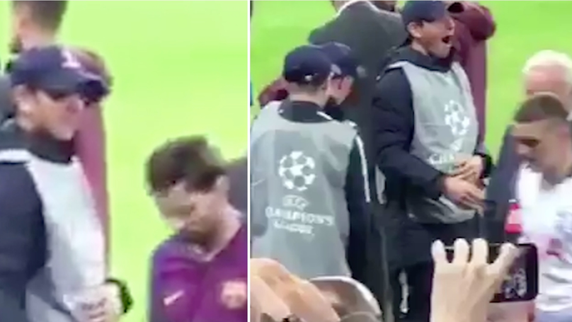 Ball Boy's Reaction When Lionel Messi Shakes His Hand Is Priceless