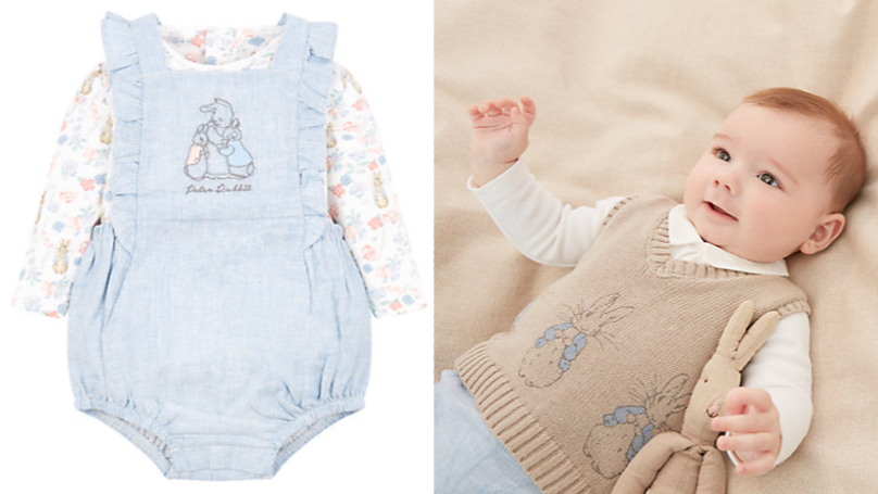 e6beb8553 Mothercare Launches Line Of Peter Rabbit Baby Clothes And It s All ...