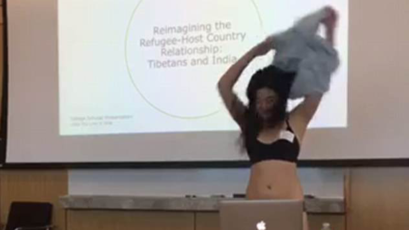 Student Strips Down To Underwear During Thesis Presentation At Cornell