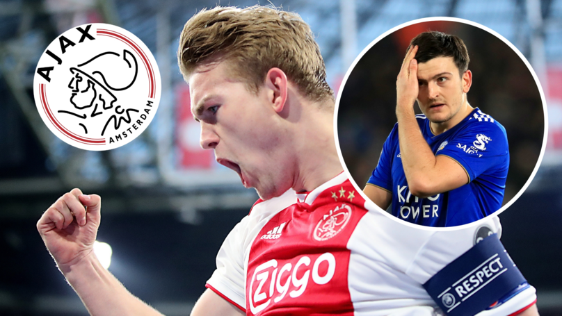 'I Don't See De Ligt Doing Anything Maguire Can't Do,' Says Jermaine Jenas