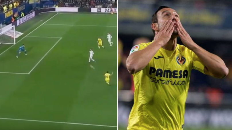 Santi Cazorla Rolls Back The Years And Scores Twice Against Real Madrid