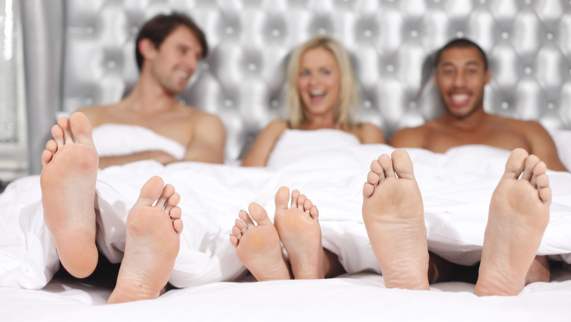 Virgin Media Repair Men 'Accidentally Interrupt Grand National-Themed Orgy'