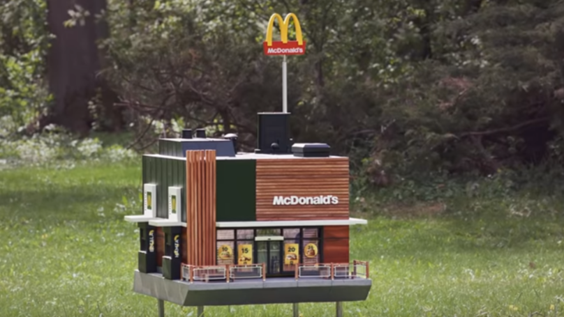 'World's Smallest McDonald's' Restaurant For Bees Is Now Open
