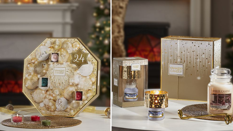 Here's A Sneak Peek At Yankee Candle's Christmas Advent Calendars