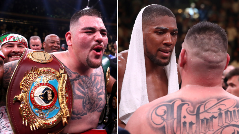 Andy Ruiz Jr Reacts To Anthony Joshua Rematch Announcement