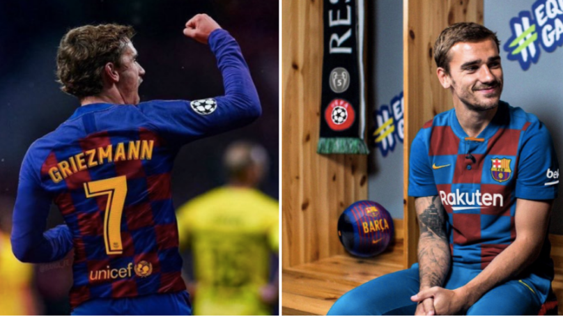 Barcelona Complete Signing Of Antoine Griezmann For £108 Million