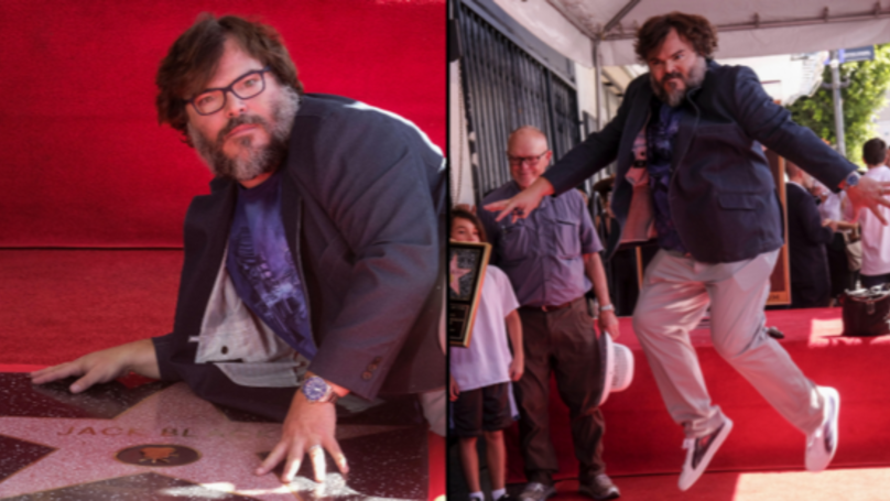 Jack Black Finally Got A Star On The Hollywood Walk Of Fame