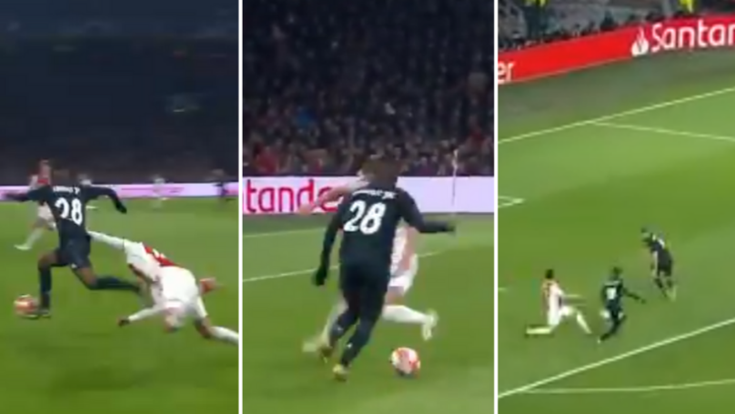 Vinicius Junior Lays On Filthy Assist For Karim Benzema's Goal Against Ajax
