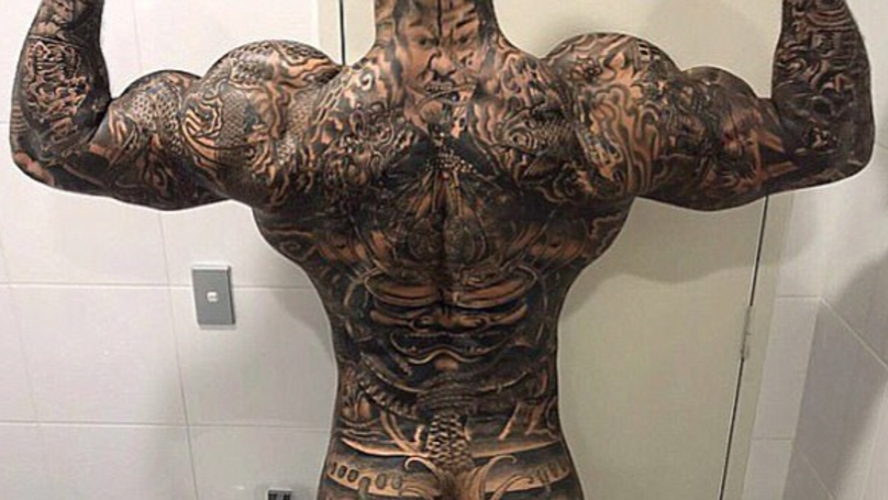 The Tattooed Instagram Star Followed By Notorious Australian Biker Gangs