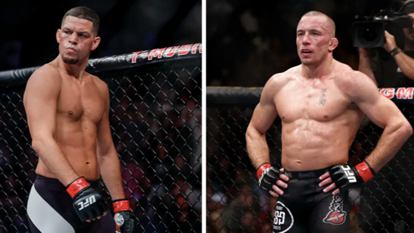 Dana White Reveals He's Working On GSP Vs Nate Diaz