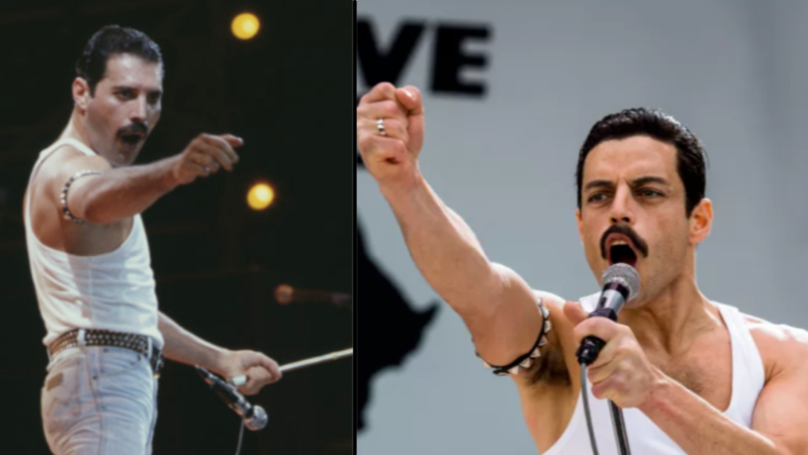 Rami Malek Filmed The Entire Queen Live Aid Set For 'Bohemian Rhapsody'
