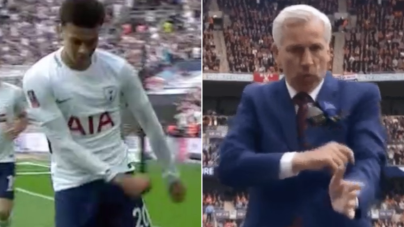 First Pardew, Now Alli - Never Celebrate Goals With A Dance Against United