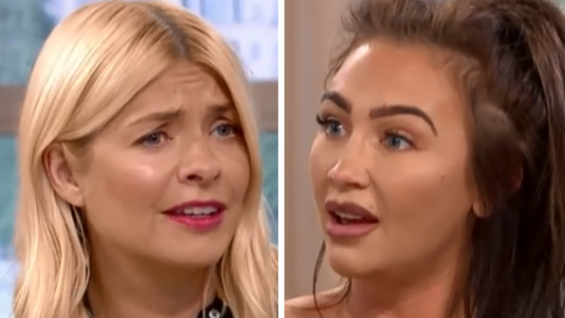 Holly Willoughby And Lauren Goodger Clash Over Love Island's Adam Collard