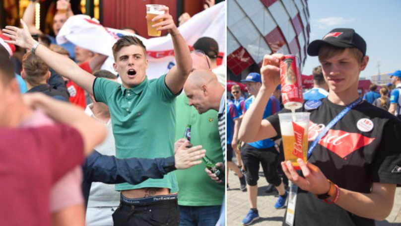 Moscow Runs Low On Supplies Of Beer At The World Cup