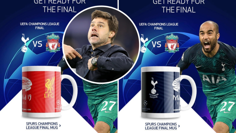 Spurs Are Now Selling Half-And-Half Mugs Ahead Of The Champions League Final