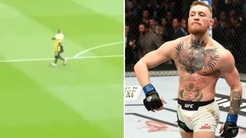 Watford Mascot 'Harry The Hornet' Does Conor McGregor Walk In Front Of Crystal Palace Fans