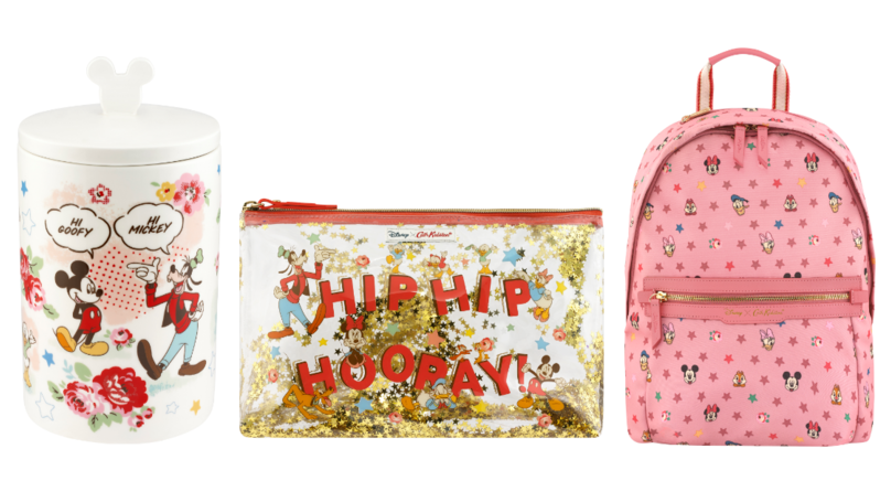 Cath Kidston Reveals Capsule Mickey Mouse Accessories And Homeware Collection