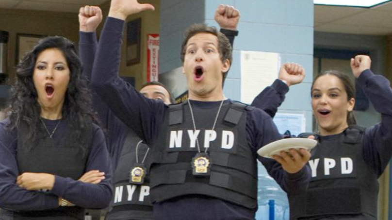 ​The Brooklyn Nine-Nine Cast Has Revealed The Backstory Behind A Running Joke