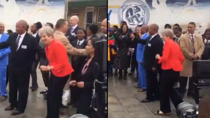 Theresa May Dancing At School Is The Most Awkward Thing You'll See Today