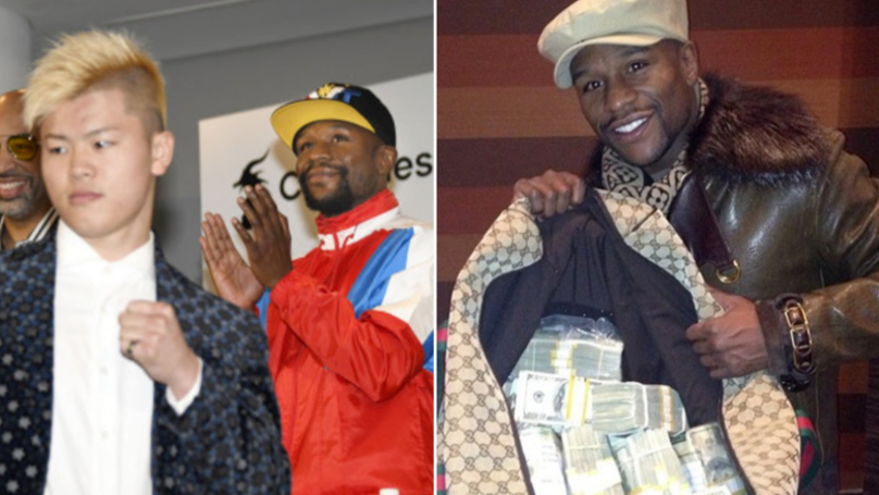 Floyd Mayweather Set To Earn $9 Million For Nine-Minute Fight Against Tenshin Nasukawa