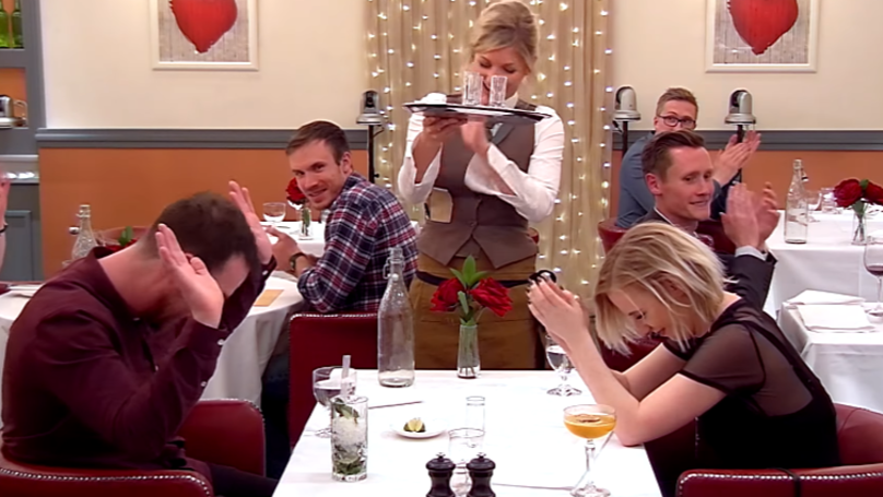 LAD Serenades Woman With A Proclaimers Song During 'First Dates'