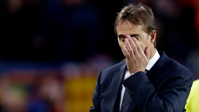 Real Madrid Have Sacked Julen Lopetegui