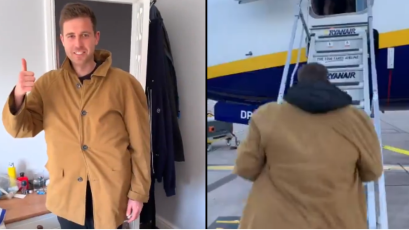 ​Man Finds Amazing Way Around New Ryanair Baggage Restrictions