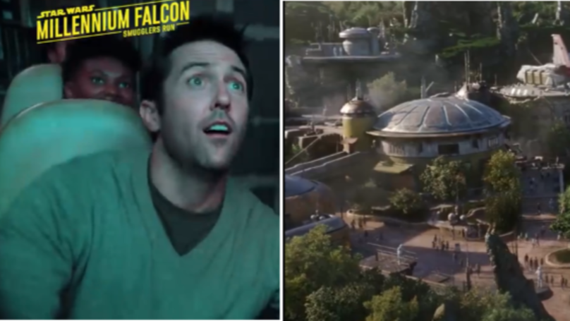 Disney Confirms Star Wars Land Is Almost Finished With New Trailer