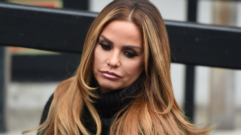Drunk Katie Price Recorded Stripping Naked In The Toilets Of A Christmas Do