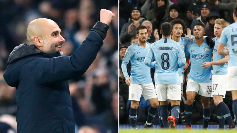 Manchester City Have Scored 96 Goals This Season, And It's Only January