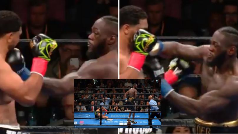 Deontay Wilder Beats Dominic Breazeale With Devastating First Round KO