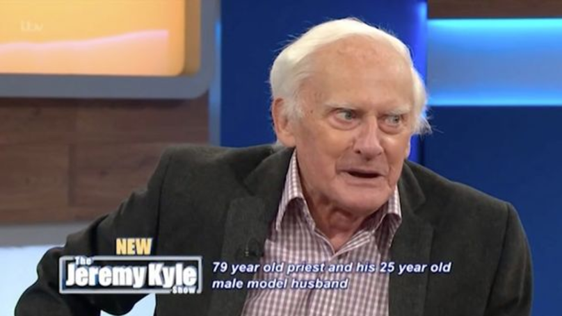 ​Retired Vicar, 79, And His 25-Year-Old Husband Appear On 'Jeremy Kyle'