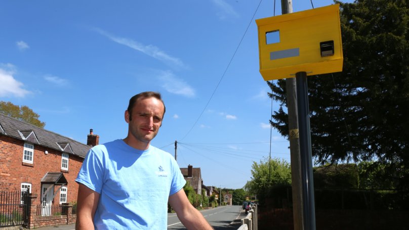 Man Sick Of Speeding Motorists Makes Fake Speed Camera