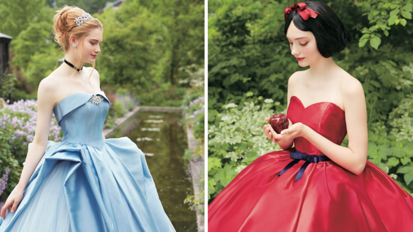 These Disney Princess Wedding Gowns Are What Fairy Tale Dreams Are Made Of