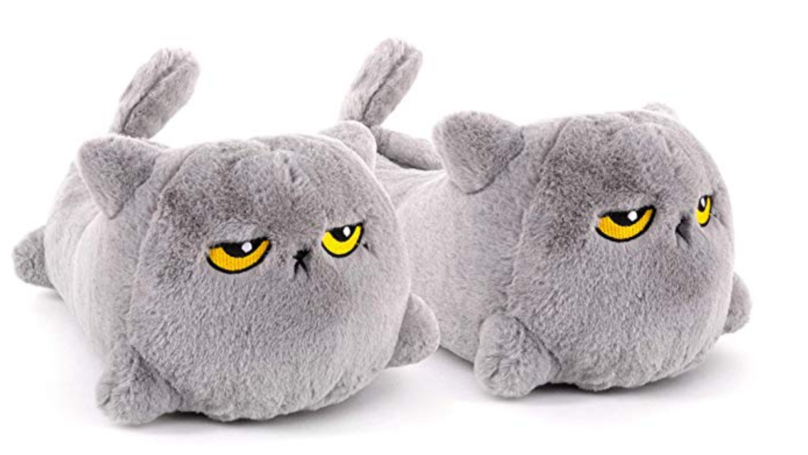 You Can Now Buy Heated Cat Slippers And We're Never Leaving The House Again