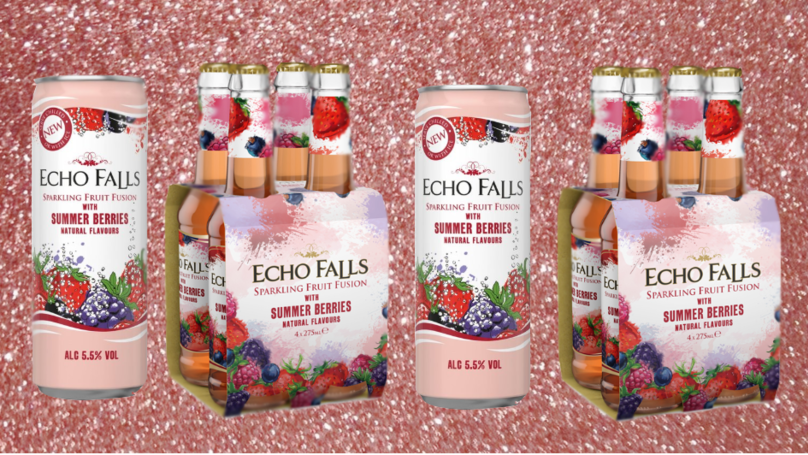 These Echo Falls Sparkling Fruit Fusions Sound Like Summer In A Sip