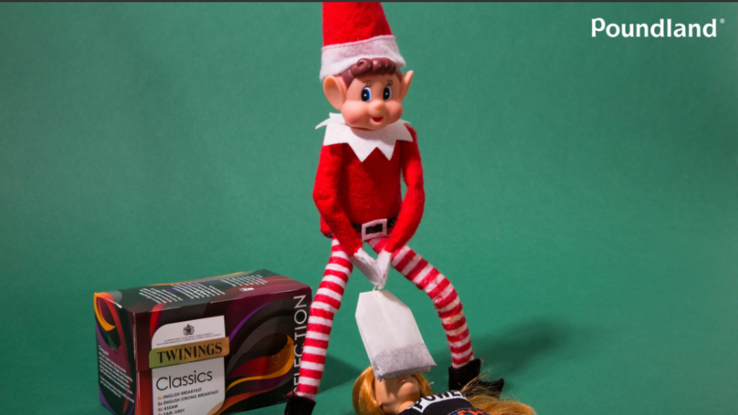 Poundland Causes Uproar By Showing Elf On The Shelf 'Teabagging' Doll