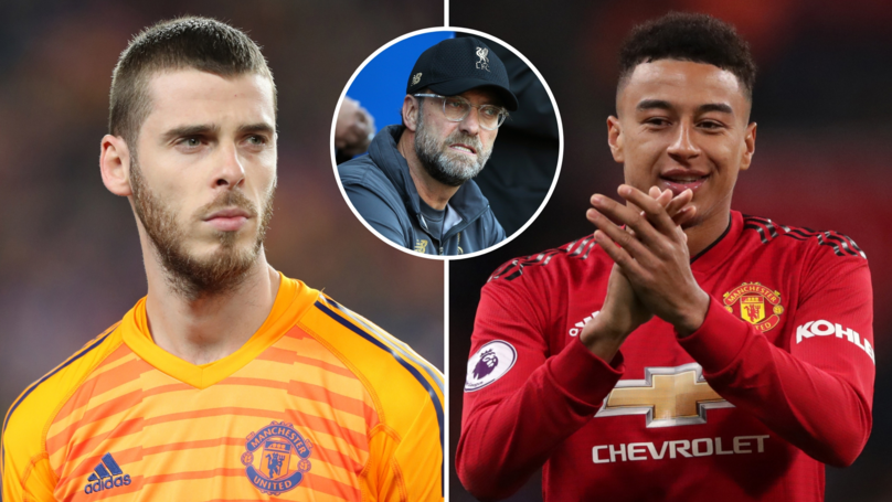 Fans Think Lingard And De Gea Purposely Messed Up To 'Sabotage' Liverpool's Title Challenge