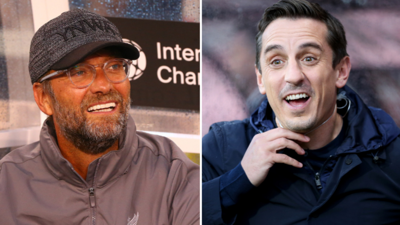 Gary Neville Defends Himself Following Jurgen Klopp Criticism