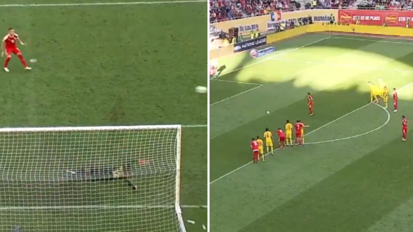 Dusan Tadic Misses Penalty By Miles After Ridiculous Run Up