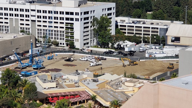 Universal Studios Nintendo Themed Land Under Construction