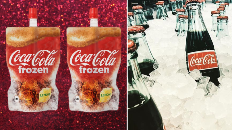 ​Coca-Cola Releases The World's First Coke Slushie