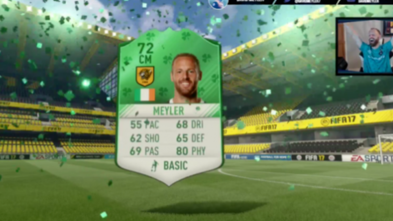 The Moment Hull City's David Meyler Packs Himself In FIFA