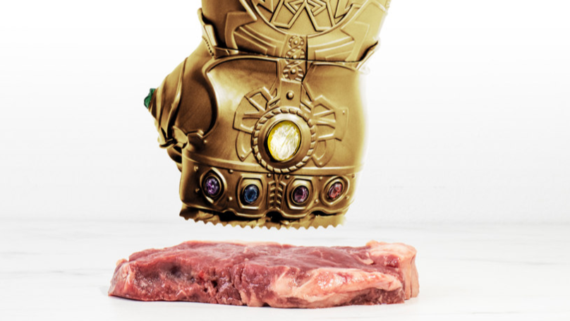 This Infinity Gauntlet Meat Tenderiser Will Have You Pounding Meat Like A Superhero