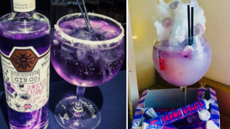 People Are Now Mixing Up Parma Violet Gin Cocktails